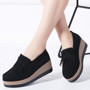 Autumn women platform shoes le