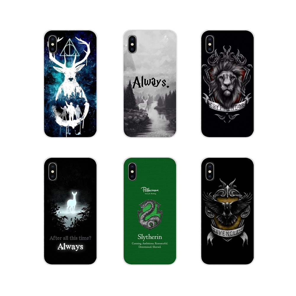Harry immer Slytherin Schule Für Apple <font><b>iPhone</b></font> X XR XS MAX 4 <font><b>4S</b></font> 5 5S 5C SE 6 6S 7 8 Plus ipod touch 5 6 Handy Fall Abdeckungen image