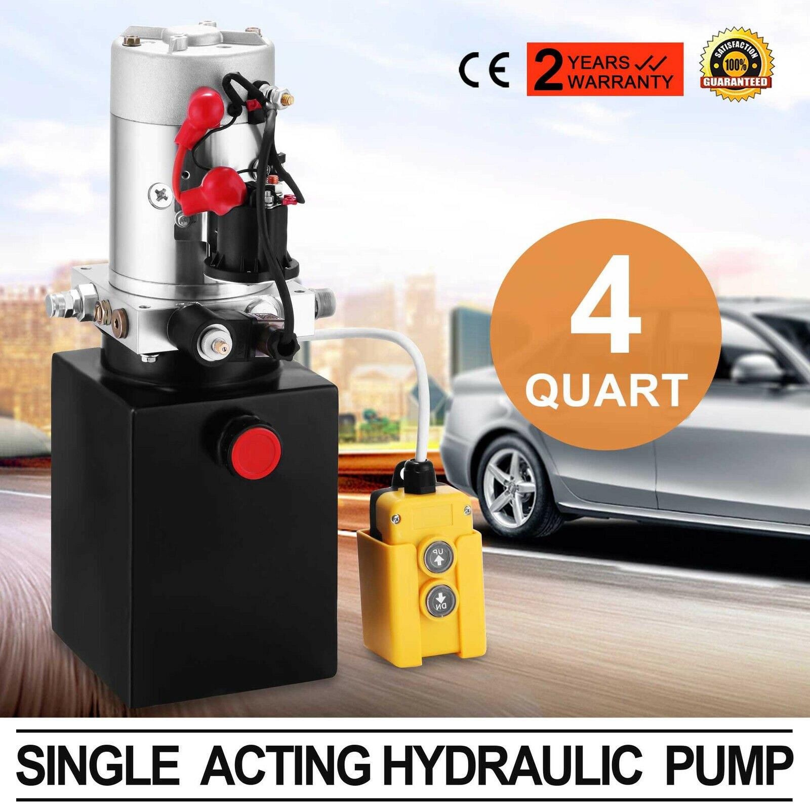 4L Hydraulic Unit, Hydraulic Pump 12 V Hydraulic Pump Trailer Dump Truck