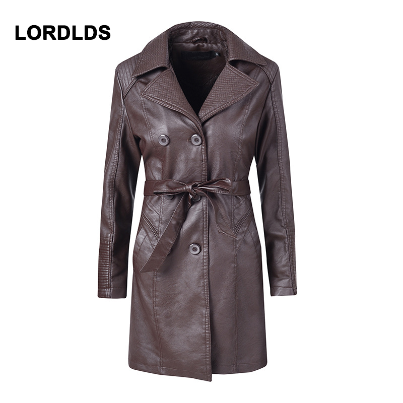 LORDLDS Jacket Coat Female Plus-Size Winter Woman for Women Autumn Loose S-XL