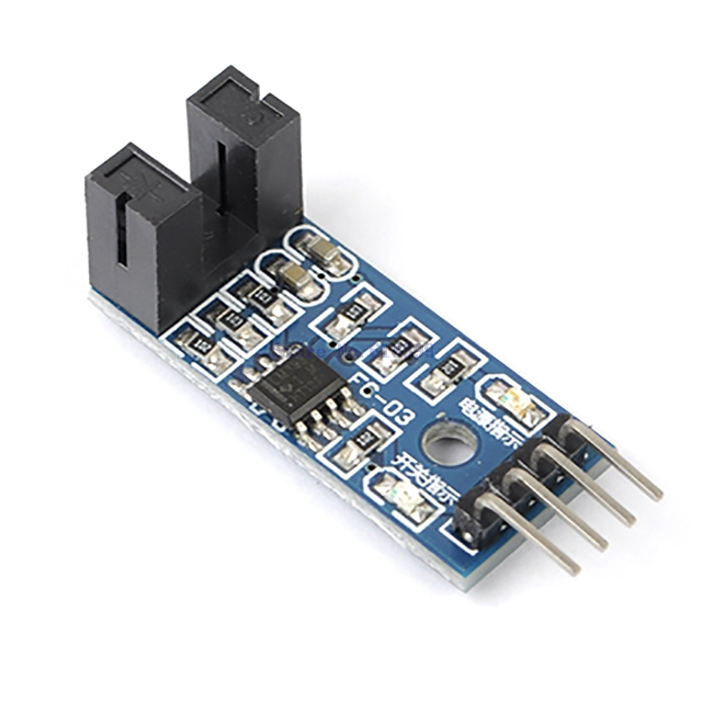 A7-- 3.3V-5V Counter Speed Measurement Module Motor Speed Test Module Slot Optocouple Pulse Detector