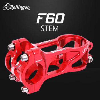 Rollingon Child Balance Handlebar Steering Head Assembly 0 Degree C Faucet Standpipe Scooter Light Steering CNC 60MM Long