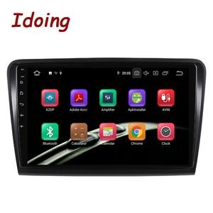 Image 2 - Iding lecteur multimédia pour skodasupb 10.2 2008, avec Navigation GPS, 4 go + 64 go, lecteur multimédia, Android 10, 2014 pouces, 2.5D, berline, sans dvd, 2din