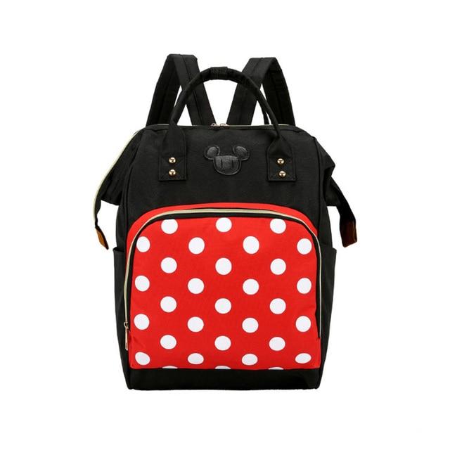 Mickey Minnie Frauen Rucksack Casual Reisetasche für Jugendliche Schule Tasche Große Kapazität Weibliche Schultern Taschen Mode BAG0006