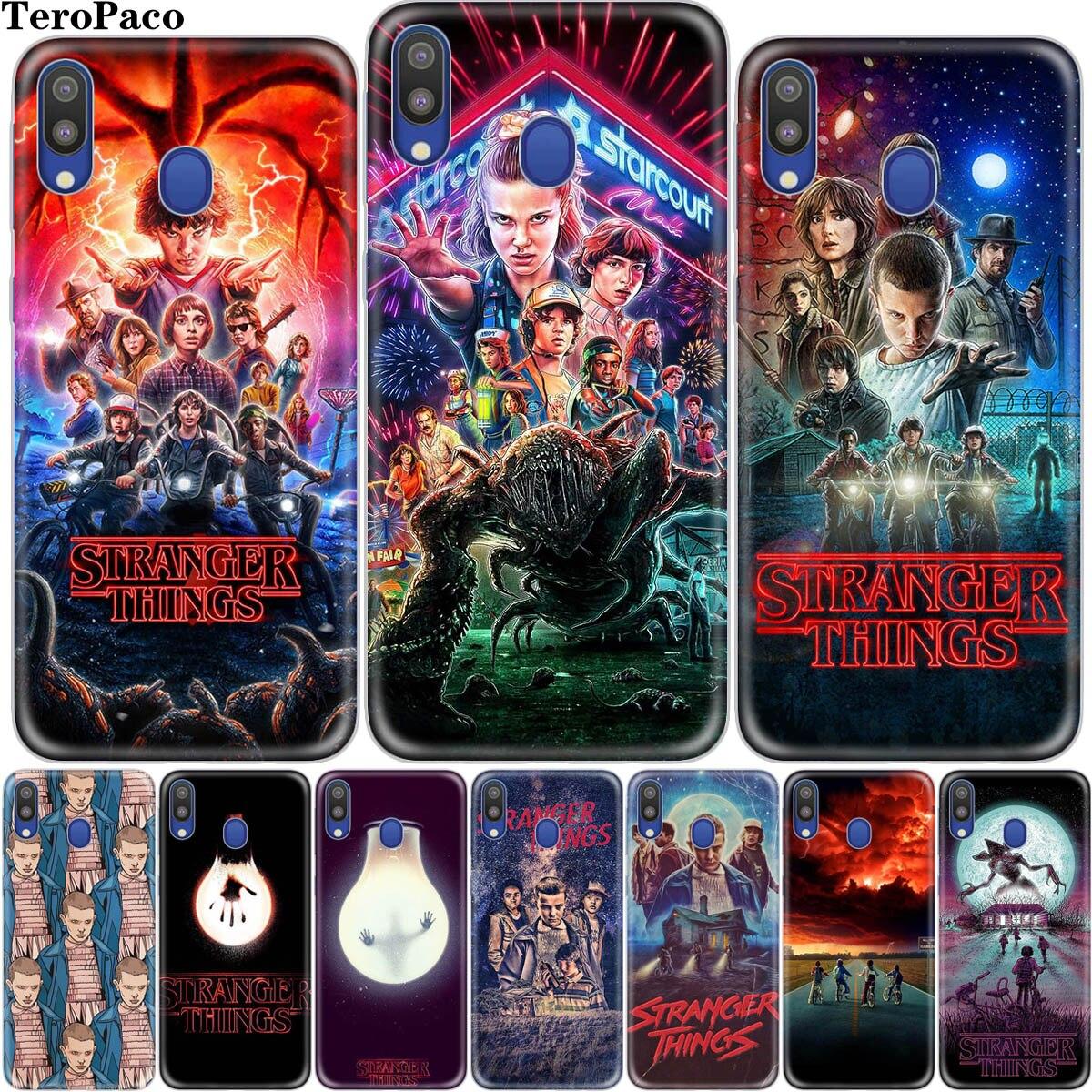 Case For M10 M20 M30 Stranger Things Phone Case For Samsung Galaxy A10 A20E A30 A40 A50S A60 A70 A80 Cover Etui(China)