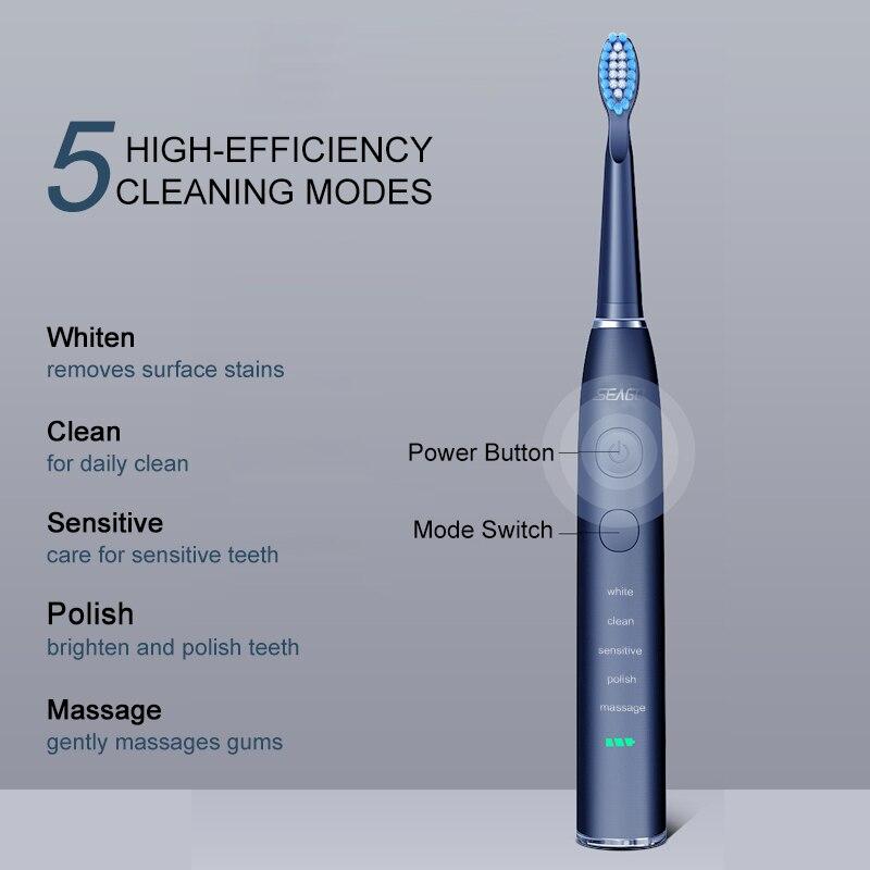 электрическая зубная щетка seago oral smart sg575