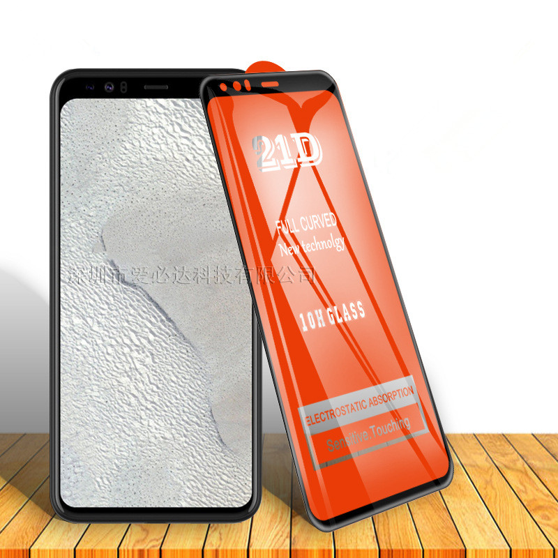 21D Cell Phone Tempered Glass Film Full Curved Screen Protector For Google Pixel 2 2XL 3 3XL 3A 3AXL 4 4XL XL
