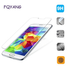 FQYANG 0.26mm 9H Tempered Glass For Samsung Galaxy A3 A5 A7 2017 2016 2015 J2 Pro 2018 Screen Protector Toughened Film