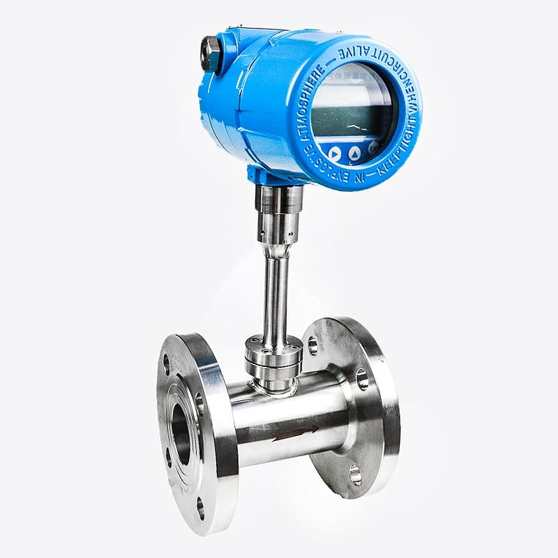 Измеритель массового расхода газа азота с импульсным выходом, 24 В постоянного тока, ЖК-дисплей RS485