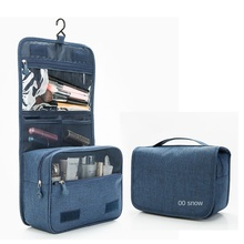Waterproof Wash Bag Travel Business Trip Portable Big Capacity Storage More Function Makeup Soft Polyester
