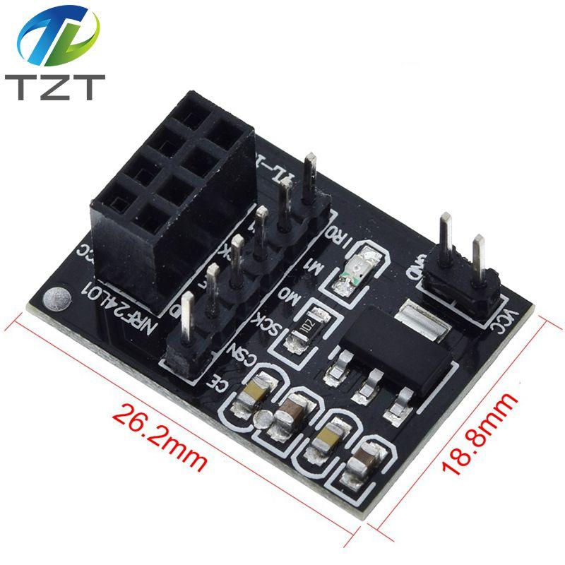 Adattatore per modulo wireless 8PIN NRF24L01 2,4Ghz ARDUINO circuito module
