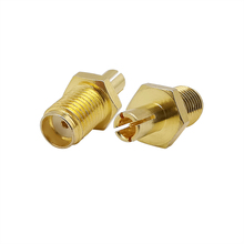 2Pcs SMA Female Jack to TS9 Male Plug Straight Antenna Cable Connector RF Coaxial Connector TS9 Plug to SMA Jack