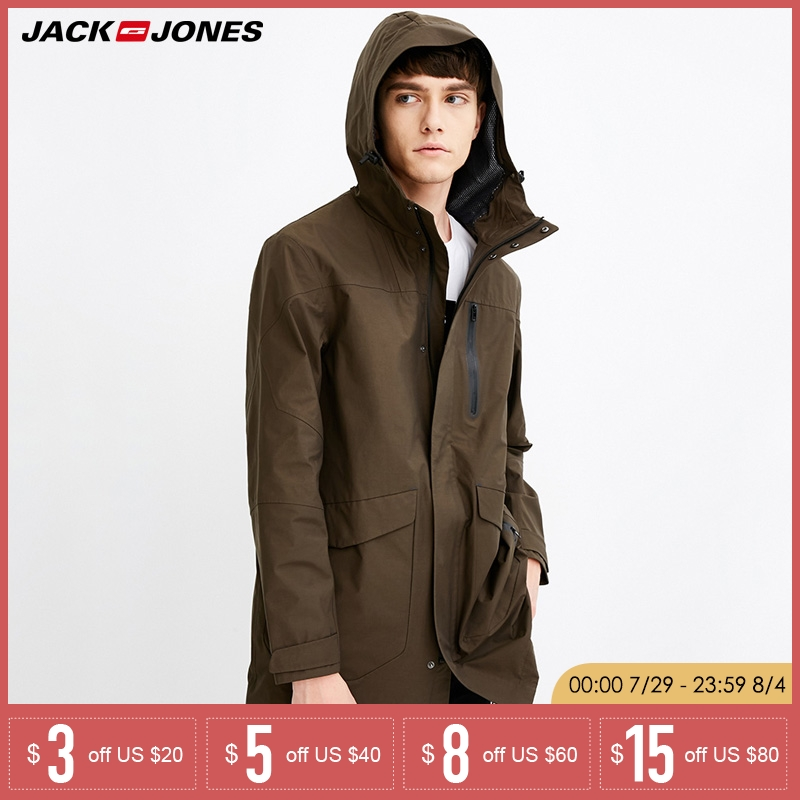 CITY CLASS 2019 Mens 100 Washed Fashion Windbreakers Casual Short Jackets and Coats Muti colors Zipper