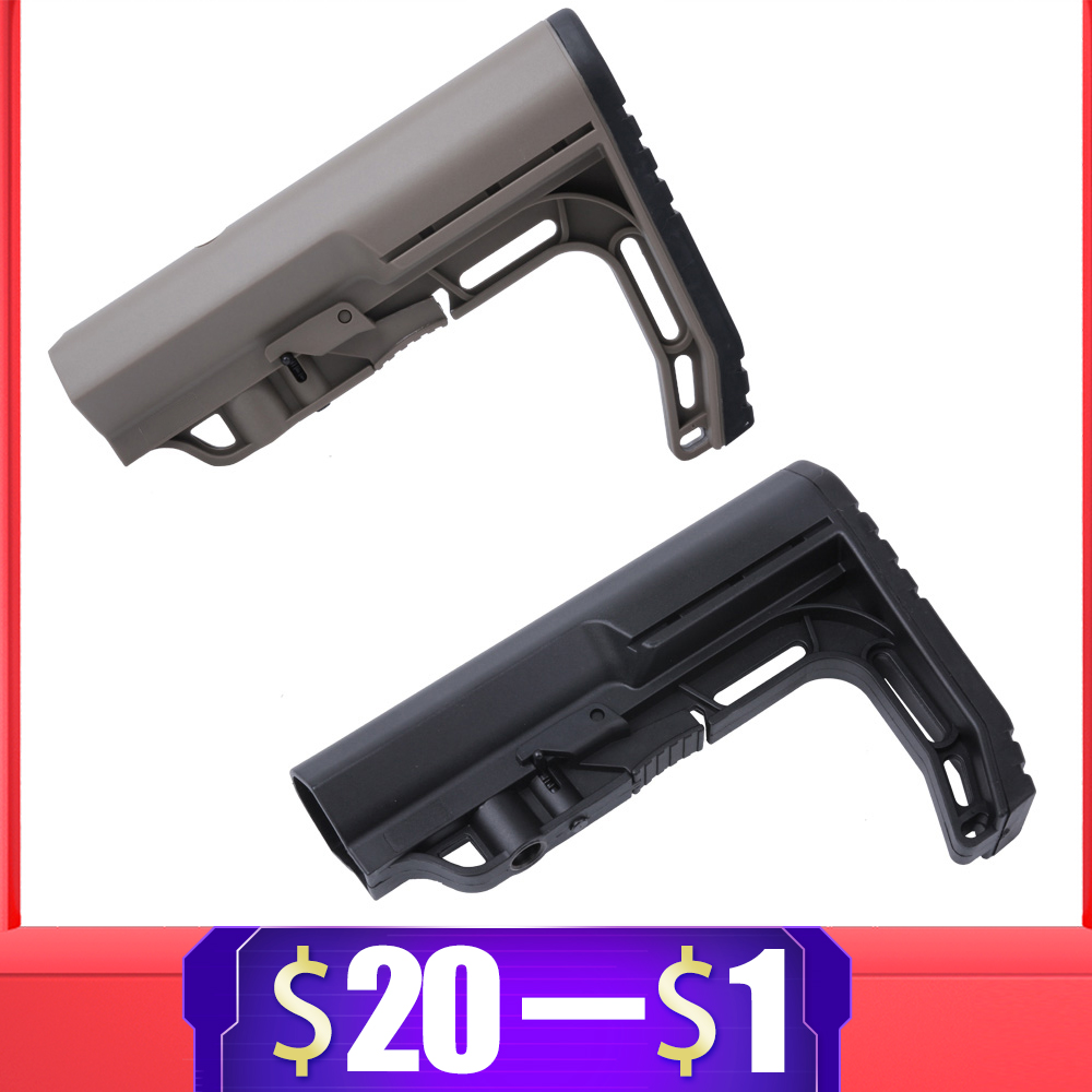 Tactical CS Sport Nylon Stock For Airsoft Air Guns Accessories Paintball AEG M4 M16 BD556 Gel Blaster JinMing9 Gearbox