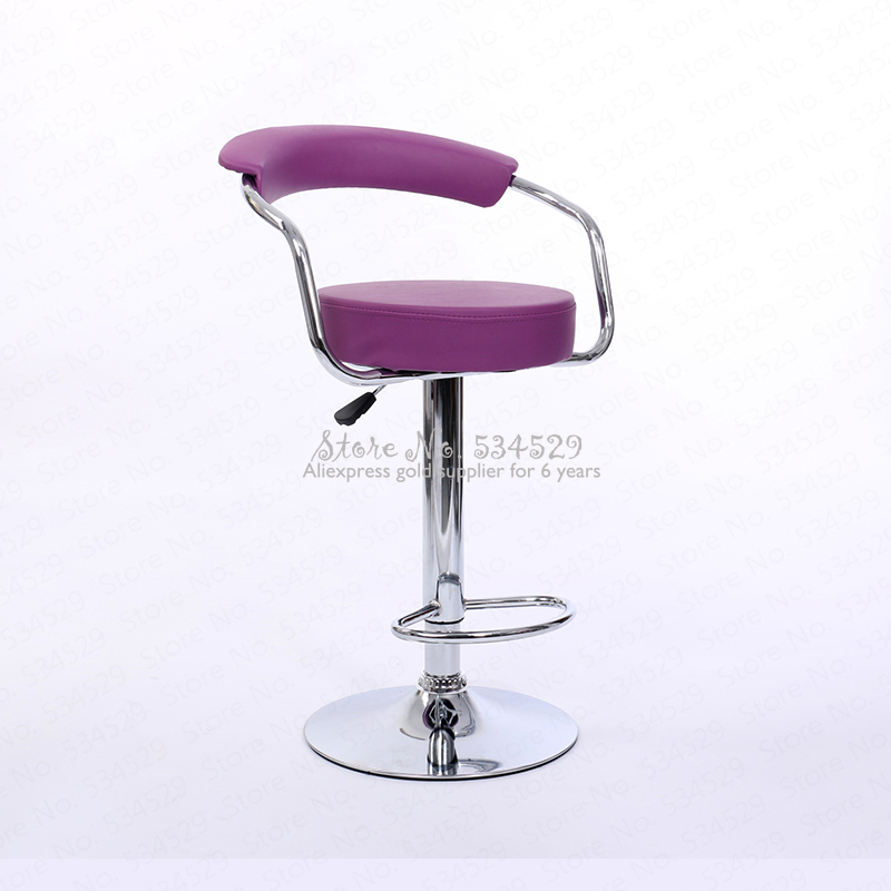 30%B Bar Chair Lift Chair Modern Minimalist Back Bar Chair Home Bar Stool Rotating Front Desk High Foot Cashier Stool