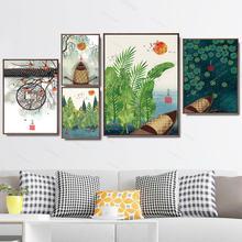 Украшение для дома Печать холст настенные художественные плакаты