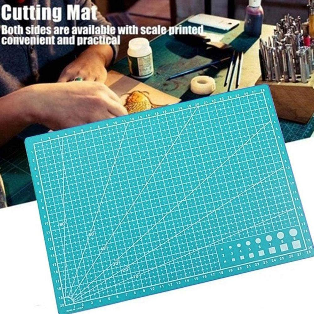 1PC A4 Cutting Mat Grid Lines Self Healing Cutting Mats High Quality Craft Card Fabric Leather Paper Board For Sewing 30*20cm