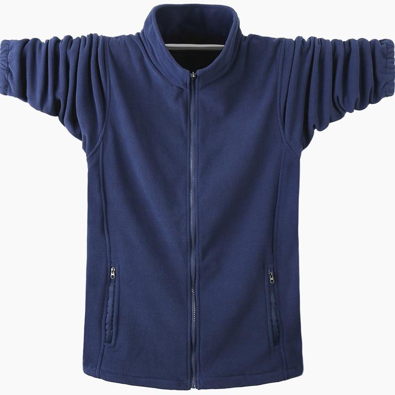 Autumn Winter New Warm Soild Hoodies 2019 Men Casual Hoodies Sweatshirt Sportswear Male Fleece Hooded Jacket Large Size 5XL 6XL