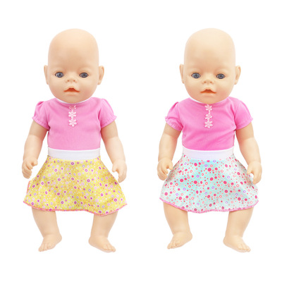 New Style Dress Clothes Fit For17inch/43cm Born Baby Doll Clothes Doll Accessories For Baby Festival Gift