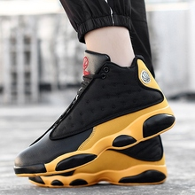 Cushioning-Light Basketball-Shoes High-Top Men's Man Outdoor Breathable Anti-Skid