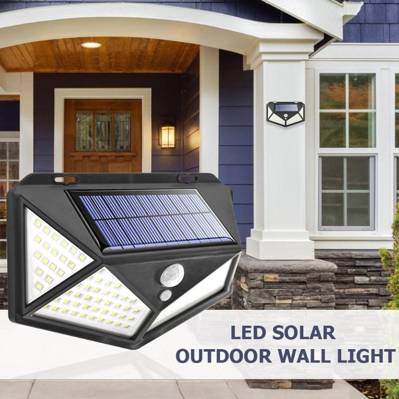 114 LED 2400mA Solar Wide-angle Light Wireless Energy Saving Outdoor Yard Lamps Excellent Illumination Up To 1000 Lumens