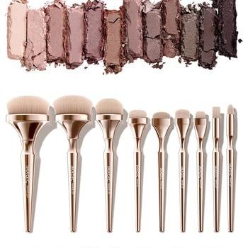 9pcs Makeup Brush Set Smudge Brush Powder Brush Concealer Brush Highlighter Brush Kit concealer highlighter brush makeup tools фото