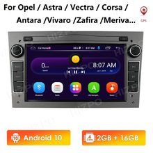 2G 64G Android 10 2 Din voiture lecteur GPS pour Opel Astra H J 2004 Vectra Vauxhall Antara Zafira Corsa C D Vivaro Meriva Veda Radio