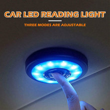 цена на LED Car Interior Reading Light Auto USB Charging Roof Magnet Auto Day Light Trunk Drl Square Dome Vehicle Indoor Ceiling Lamp