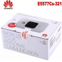 Unlocked New HUAWEI E5577 4G LTE Cat4 E5577Cs 321 1500mah Mobile Hotspot Wireless WIFI Router Pocket