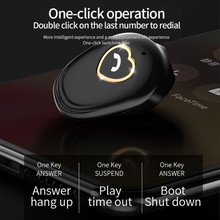 Buy V20 Mini BT Bluetooth Wireless Earphone V4.2 Stereo Earbud Headset Single with Mic directly from merchant!