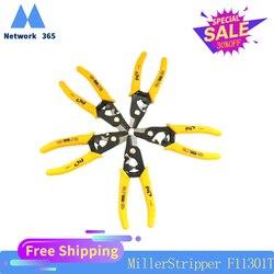 5 pçs/lote fis fiber stripping alicates f11301t fis tri-hole fibra óptica stripper miller fio atacado frete grátis
