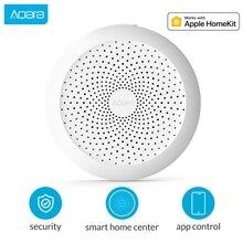Aqara Hub Mi Gateway with RGB Led night light Smart work with For Apple Homekit and aqara smart App for Mihome smart home