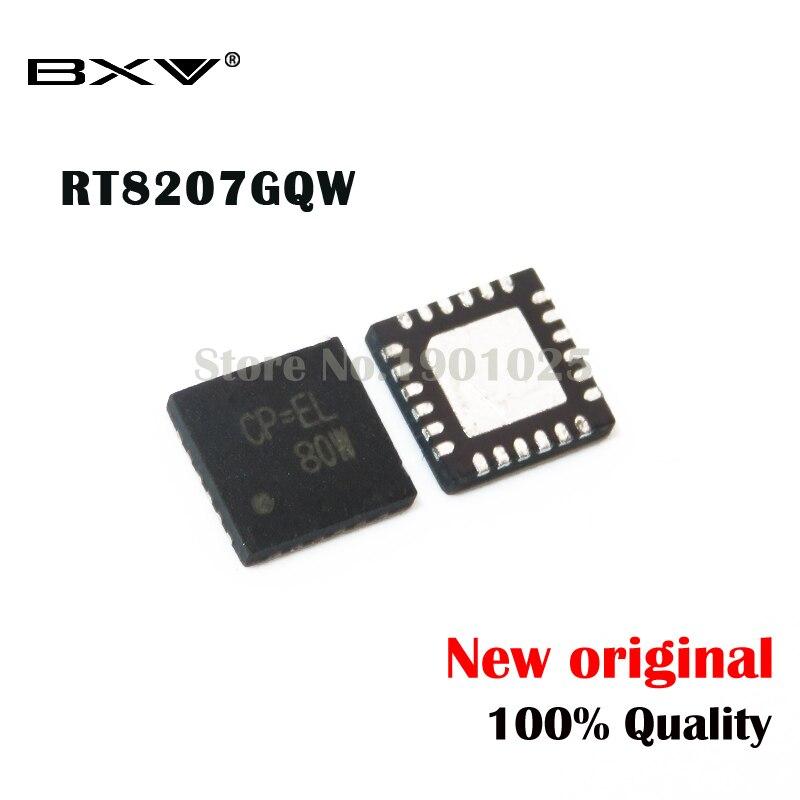 5pcs RT8207GQW QFN-24 RT8207 (CP=CM CP=AH  CP=DD  CP=CD  CP=...) New Original