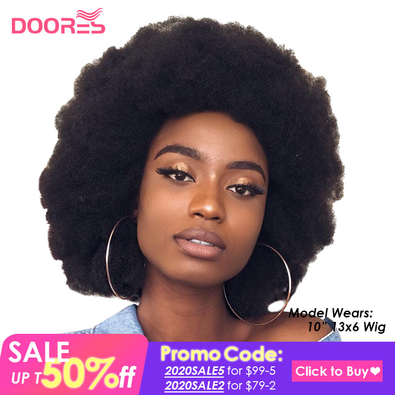 Afro Kinky Curly Wig Pixie Cut Lace Closure Wig Kinky Curly Human Hair Wig Bob Lace Front Human Hair Wigs Afro Wig Human Hair