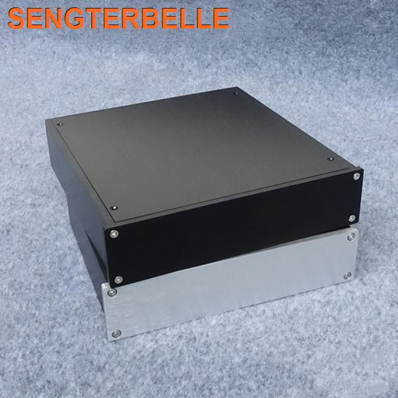 BZ2205 All Aluminum Chassis Amplifier Audio Housing Power Amp Case DIY Box Pre-Amp Enclosure