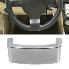 Car Steering Wheel Trim Sequin Cover Chrome Emblem Insert Trim Cover Fit for VW Golf MK5 Plus 5 GTI Passat B6 3C Eos Jetta