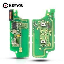 10 unids/lote para Peugeot 207, 208, 307, 308, 408, socio para CITROEN C2 C3 C4 C5/FSK remoto clave placa de circuito electrónico botón 2/3
