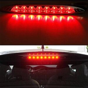 Image 5 - IJDM lente ahumada LED roja, 3ª lámpara de freno para MINI Cooper R50 R53 1ª generación, ajuste OEM, luz de freno de montaje alto