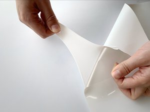 "Image 5 - Ücretsiz kargo 1 levha 12 ""x 40""/30cm x 100cm süper elastik PU ısı transferi vinil Film demir On HTV filmi satış"
