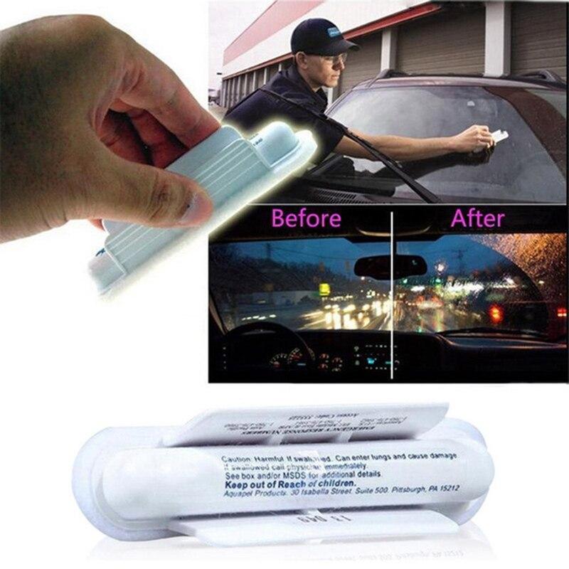 1Pcs Universal Anti Rain Car Windshield Wipers Blue Soft Absorbent Wash Cloth Car Windshield Glass Water Rain Repellent