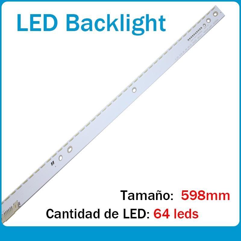 LED Backlight Strip 64 Lamp For Samsung 49