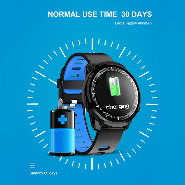 ESEED L5 plus L3 smart watch men IP68 waterproof full touch screen 60days long standby smartwatch Heart Rate PK honor watch