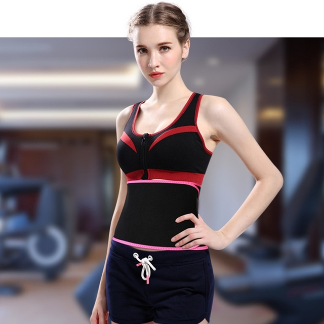 Sport Waist Trimmer Belt Weight Loss Sweat Band Wrap Fat Tummy Stomach Sauna Sweat Belt Hot Style