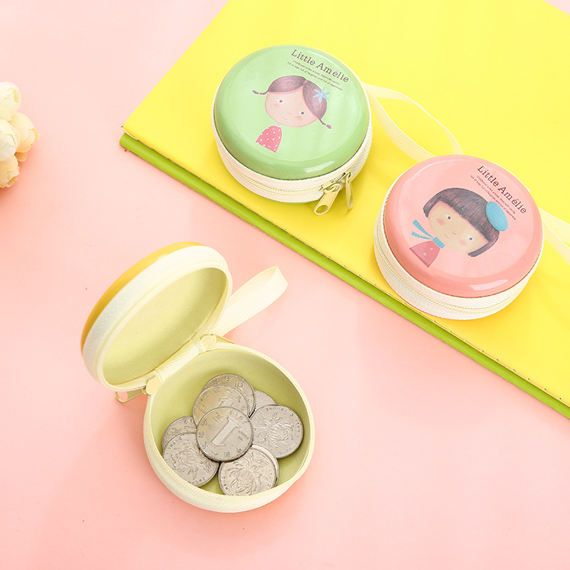 Creative Kindergarten Purse CHILDREN'S Cartoon Mini Prizes Coin Bag Cute Birthday Pastoral Style Share Small Ceremony