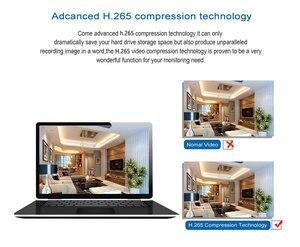 Image 4 - Kaleci H.265 4CH /8CH POE NVR HD 1080P 2MP POE IP ses kamera PoE NVR 48V 802.3af P2P ONVIF ağ Video kaydedici