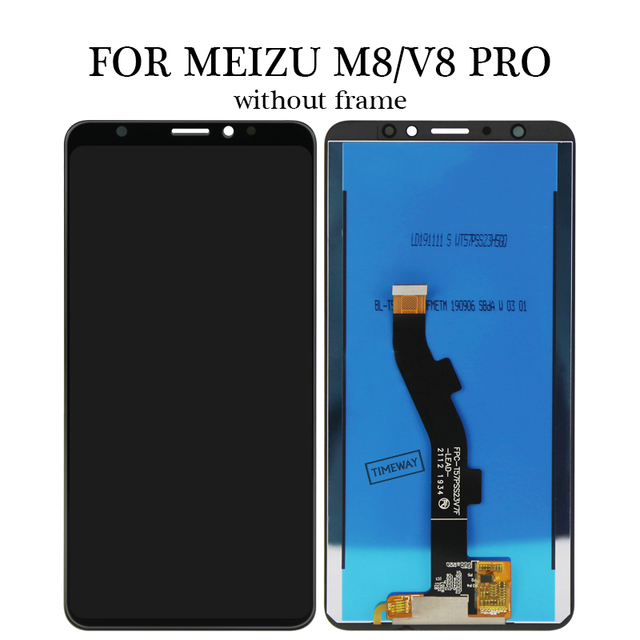 Фото жк экран 57 дюйма с рамкой для meizu m8 v8 глобальная версия цена
