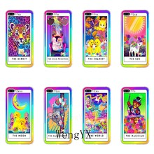 Colors Lisa Frank poster tiger dog Cat Accessories case For Samsung Galaxy J7 J5 Prime pro J3 J2 J1 A7 A5 A3 2018 2017 2016(China)