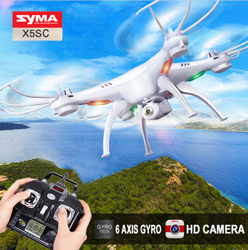 2015 New Version Syma X5S / X5SC 2.4G 6 Axis Headless Mode GYRO HD Camera RC Quadcopter RTF RC Helicopter with 2.0MP Camera