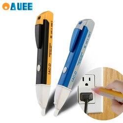 Lâmpada de tensão ac indução elétrica caneta medidor de energia detector de indução sem contato caneta elétrica detecção de som luz alarme caneta