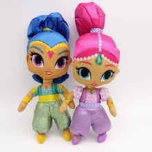 лучшая цена 1pcs New doll 10 inches soft Shimmer Sister stuffed dolls Cute Shine Girl doll plush toys gifts for Baby